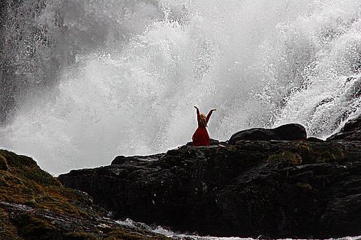 Norway Waterfall by Jim Kuhlmann