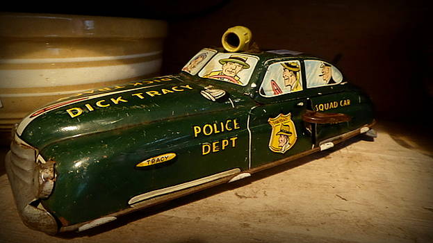 Nostalgia - Wind Up Car Toy by Lori Seaman