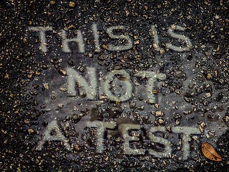 Not A Test by Randy Sylvia