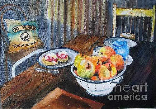 Not Just Tea and Scones - QCWA Toowoomba 90 Years by Therese Alcorn