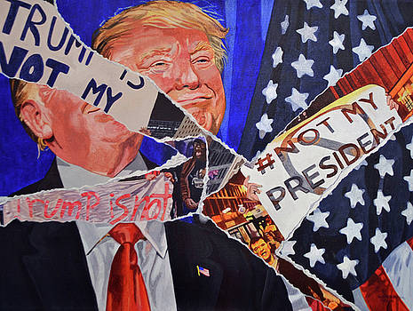 Not My President by Valerie Patterson