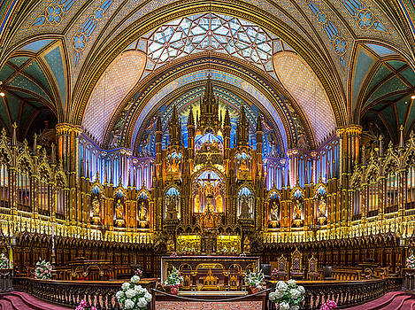 Notre-Dame Basilica of Montreal by Nick RUXANDU