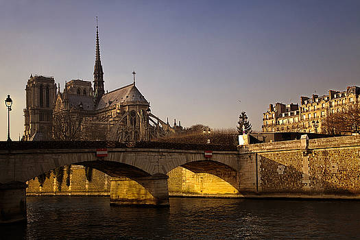 Notre Dame in Paris by Andrew Soundarajan
