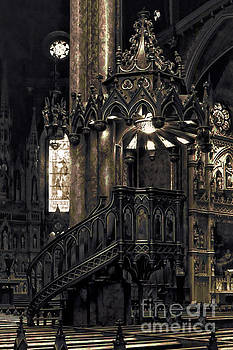 Notre Dame - Montreal by Deena Athans