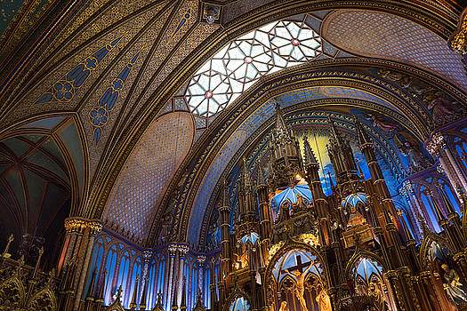 Notre Dame Montreal by For Ninety One Days