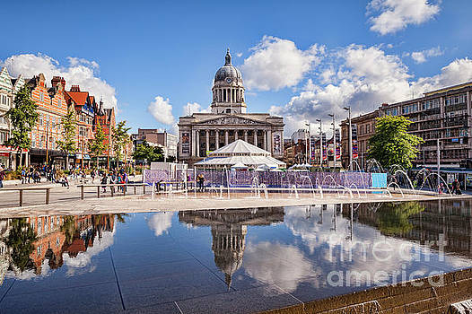 Nottingham, England by Colin and Linda McKie