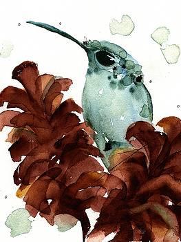 November Hummer by Dawn Derman