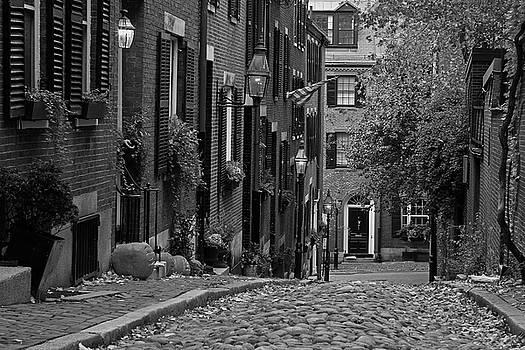 Juergen Roth - November on Boston Acorn Street