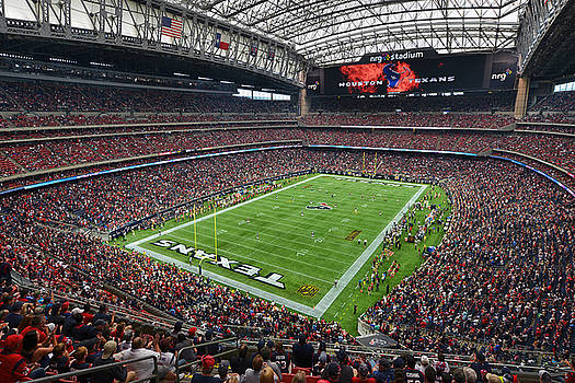 NRG Stadium - Houston Texans  by Mark Whitt