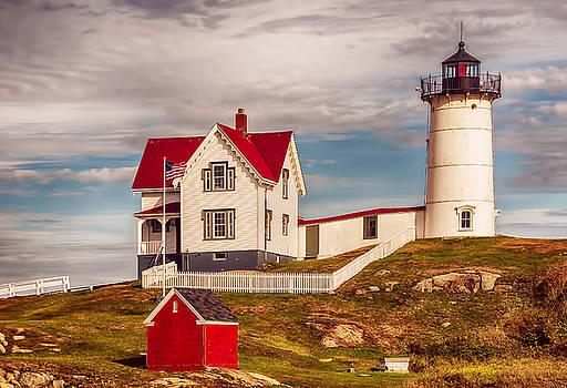 Nubble Lighthouse by Mick Burkey