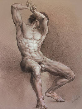 Nude 9 by Valeriy Mavlo