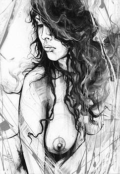 Nude Study 073 by Leanne Dolan