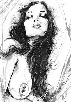 Nude Study 094 by Leanne Dolan
