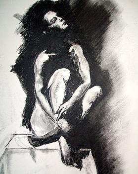Nude Study by Judy Pearson