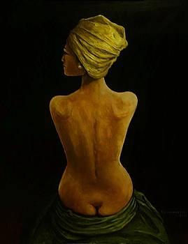 Nude Study  by Richard Klingbeil