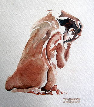 Nude by Tim Johnson