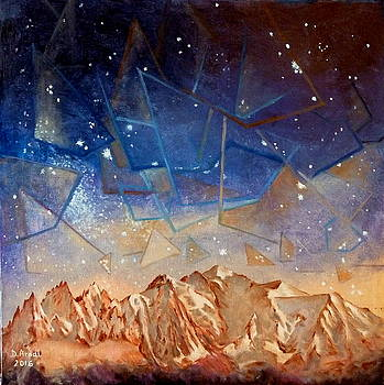 Nuit cosmique by Danielle Arnal