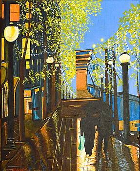 Nuit De Pluie by Donna Blossom