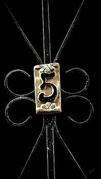 Number 5 by Bruce Carpenter