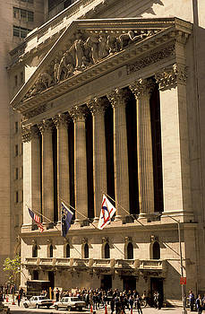 NY Stock Exchange by Gerard Fritz
