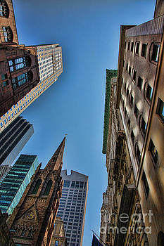 Chuck Kuhn - NYC Architecture look up