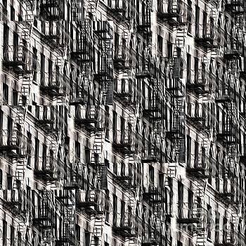Edward Fielding - NYC Fire Escapes