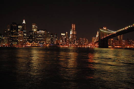 NYC Night by Maria Lopez