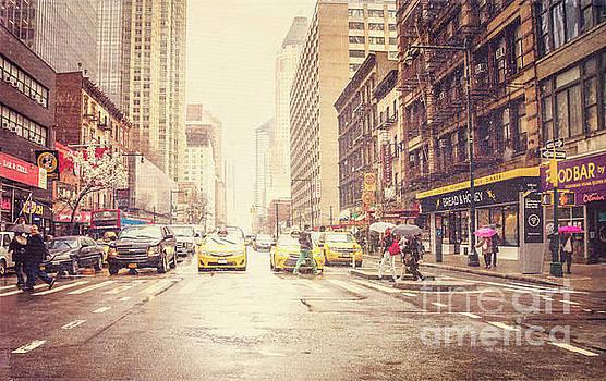 New York City Streets by Joan McCool