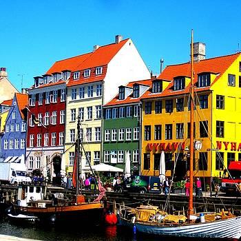 Nyhavn Copenhagen by Cathy Jacobs