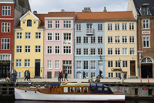 Nyhavn Pastels by Eric Nielsen