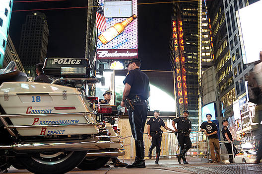 Robert Lacy - NYPD Times Square