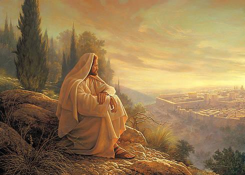 O Jerusalem by Greg Olsen