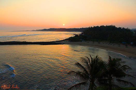 Oahu Hawaii Sunrise by Michael Rucker