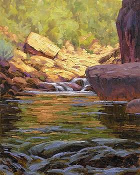 Oak Creek Tributary by Cody DeLong