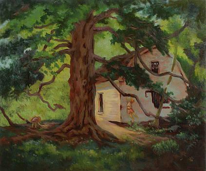 Oak Tree Friend by Bruce Zboray