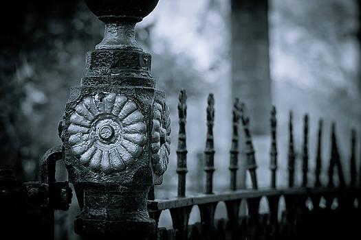 Oakwood Cemetery by Linda Unger
