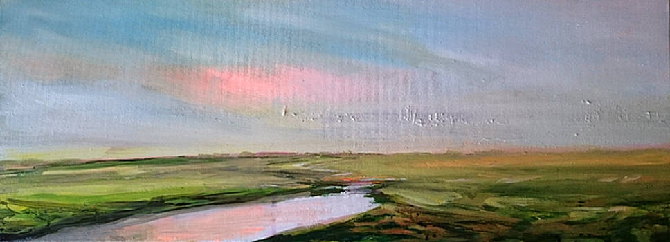 Oare Creek Spring 5 by Paul Mitchell