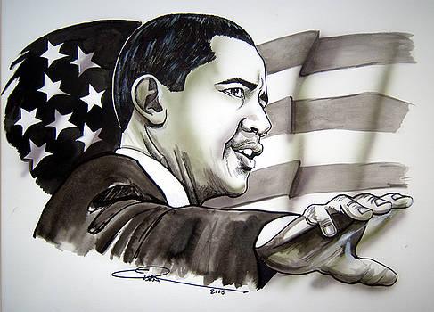 Obama 2008 by Dave Olsen