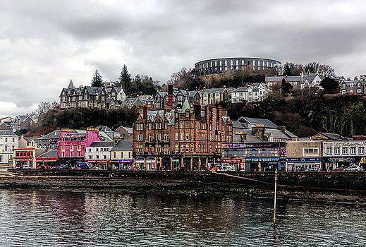 Oban and McCaig's Tower Scotland by Lynn Bolt