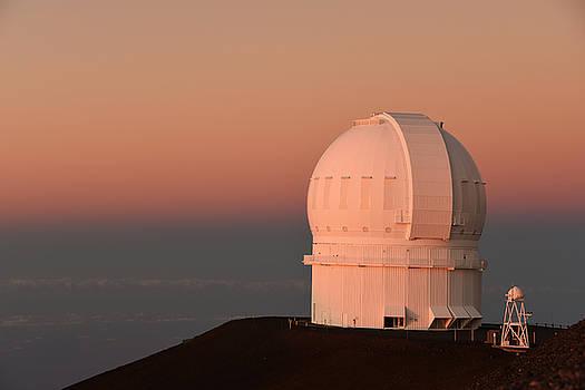 Observatory Atop Mauna Kea by Jennifer Ancker