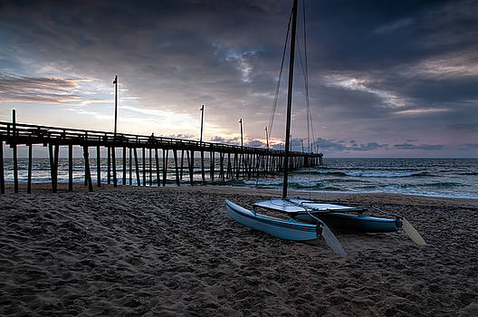 OBX morning by Richard Macquade