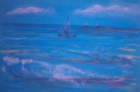 Ocean breeze by Deyanira Harris