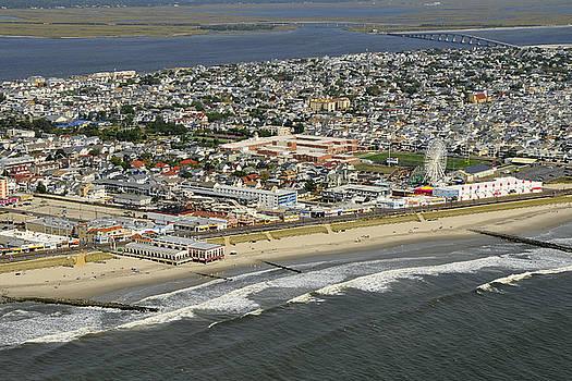 Ocean City Aerial  by Dan Myers