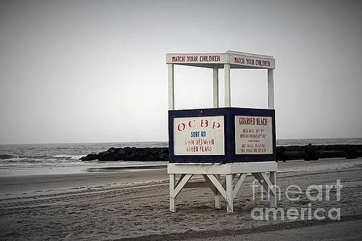 Ocean City Beach  by Denise Pohl