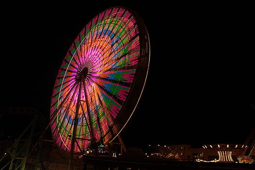 Ocean City ferris wheel 2 by George Miller