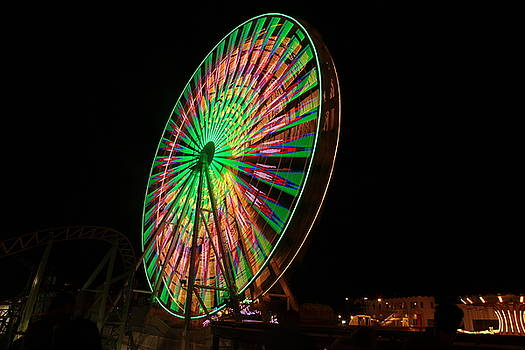 Ocean City ferris wheel by George Miller