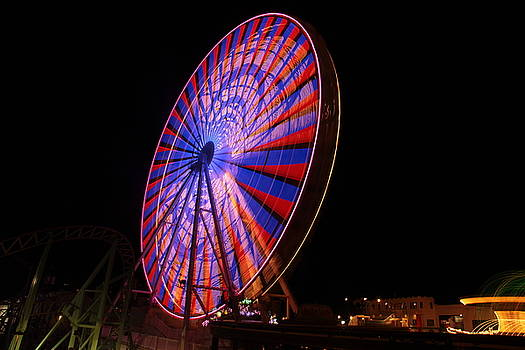 Ocean City ferris wheel4 by George Miller