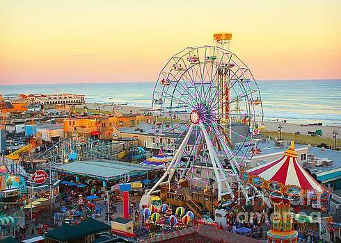 Ocean City New Jersey Boardwalk by Beth Ferris Sale