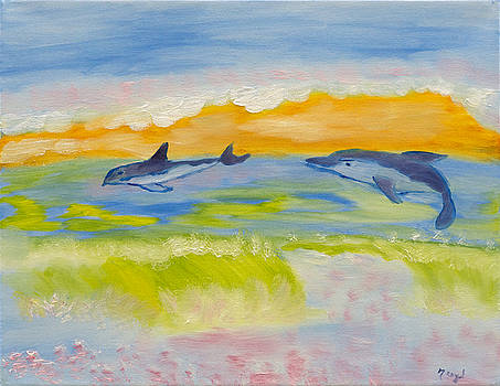 Ocean Dancing by Meryl Goudey