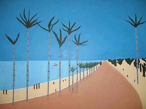 Ocean Road by Sandra McHugh